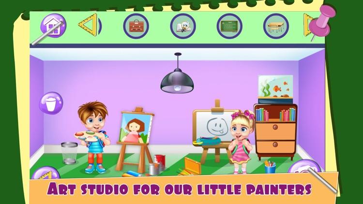 My School Doll House Game.s for Girls screenshot-4