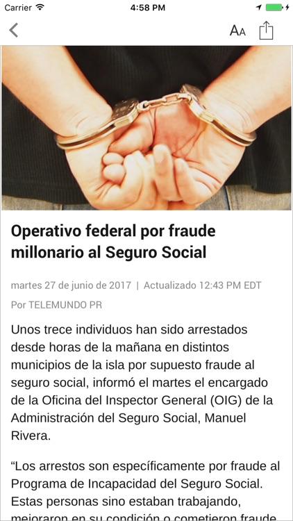 Telemundo Puerto Rico screenshot-3