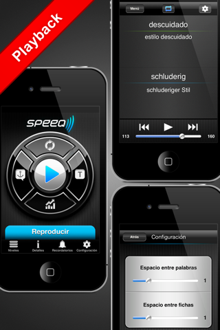Speeq Spanish|German lite - náhled