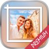 White frames for Insta & Square photo frame – Pro