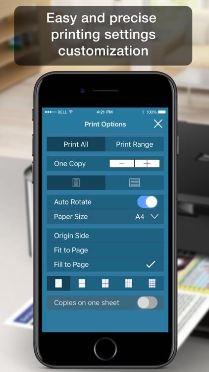 Air Printer Lite - print and share docs and photos