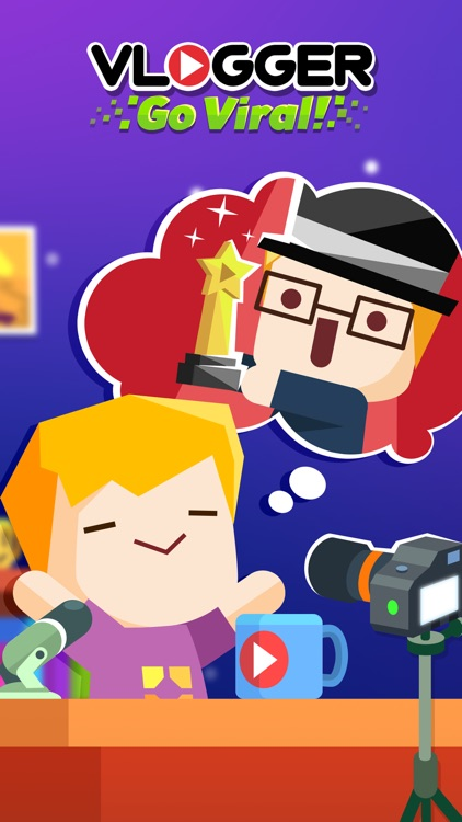Vlogger Go Viral - Clicker Game & Vlog Simulator screenshot-4