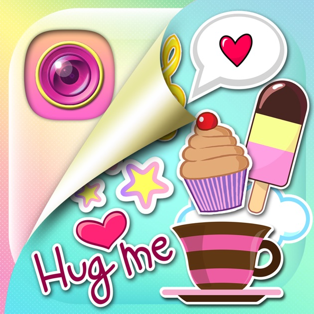 Cute Photo Editor & Funny Selfie Camera Stickers On The