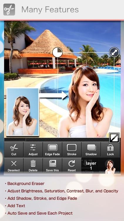 PhotoCut-Superimpose & Eraser