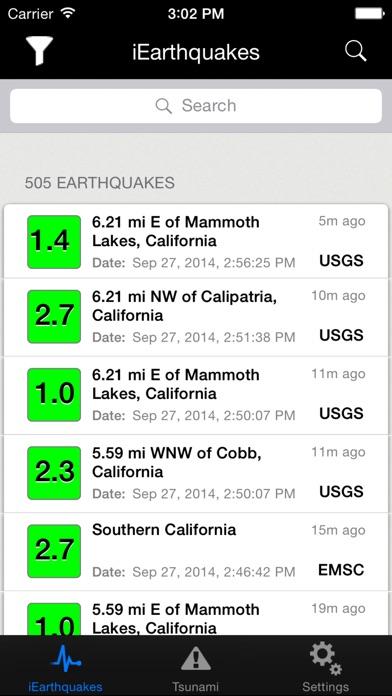 Iearthquakes review screenshots