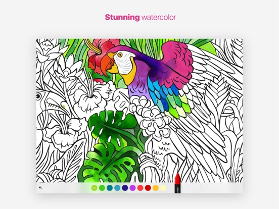 Tayasui Coloring Books | App Price Drops