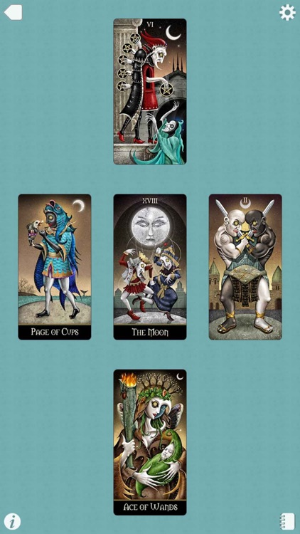 Deviant Moon Tarot screenshot-4