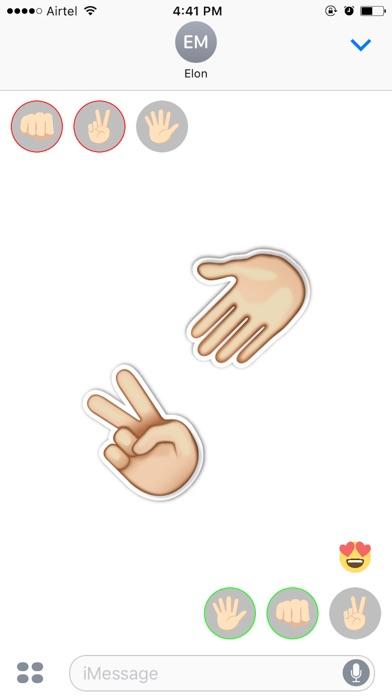 Rock Paper Scissors Challange Ihre FreundeScreenshot von 4