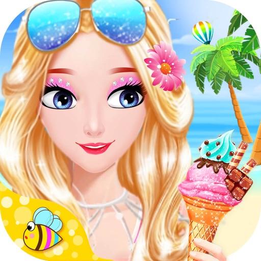 Princess Beach Hidden Object - Puzzle & Dress Up iOS App