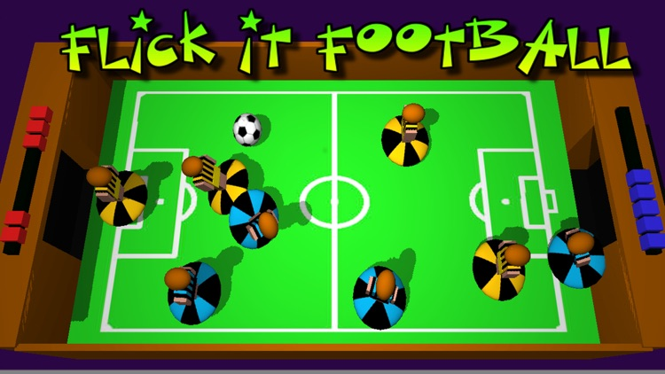 Flick It Football 3d Pro screenshot-0