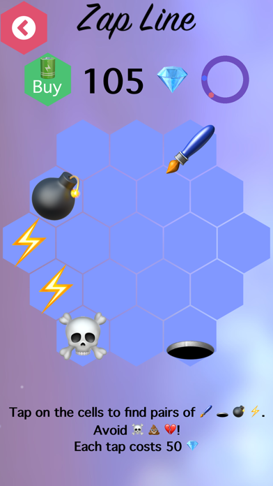 Zap Line : Connect the Ends Puzzle Game screenshot two