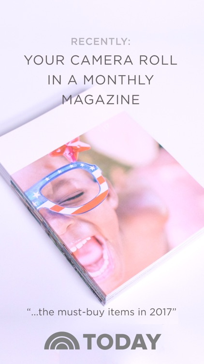 Recently - Camera Roll Photos in a Print Magazine