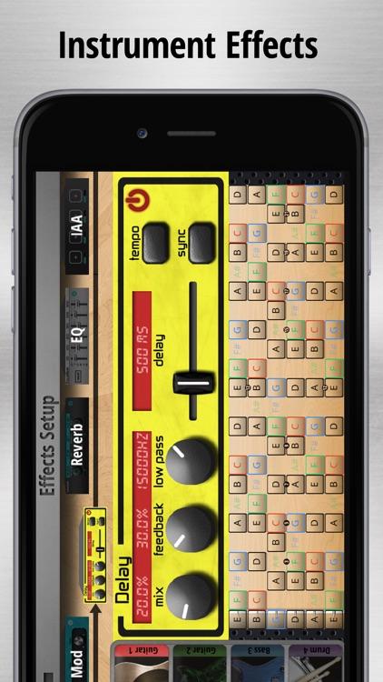 Jam Maestro Lite - guitar tab sequencer screenshot-4