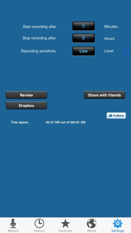 Dream Talk Recorder Pro screenshot-4