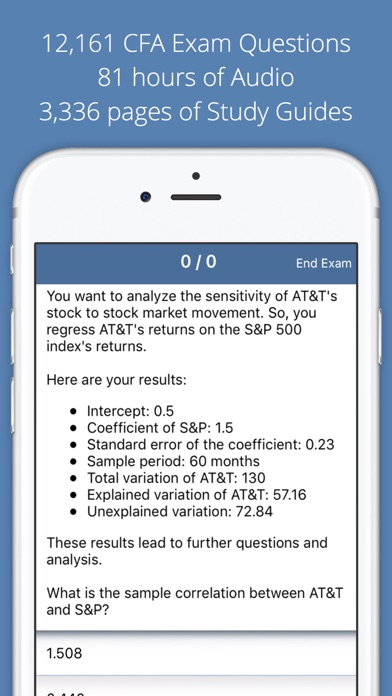 Allen Cfa Exam Questions Audio Series Guides review screenshots