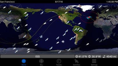 GoSatWatch Satellite Tracking | App Price Drops