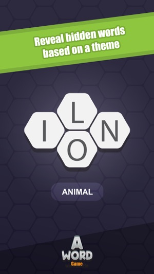 A Word Game Screenshot