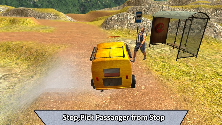 Real Off-Road Rickshaw Transport screenshot-1