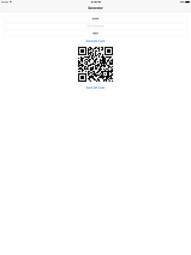 Wifi QR Code on the App Store