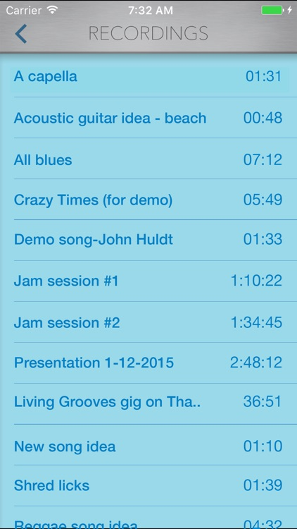 StudioMini - Your trusty music recorder screenshot-3