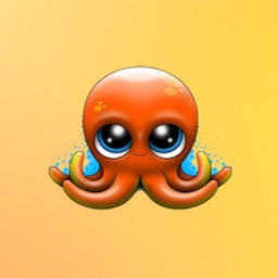 OctopusCute - Octopus Emoji And Stickers