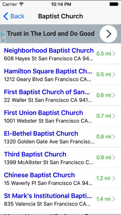 Church Finder: Find & Locate Nearby Churches screenshot four