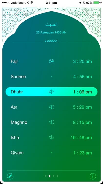 iPray: Prayer Times & Qibla Compass