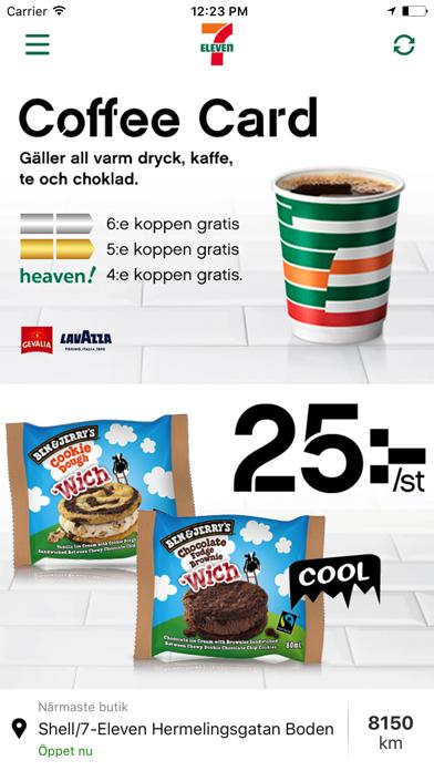 Screenshot for 7-Eleven Sverige in Sweden App Store