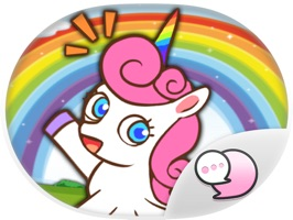 Sweety Unicorn Stickers for iMessage