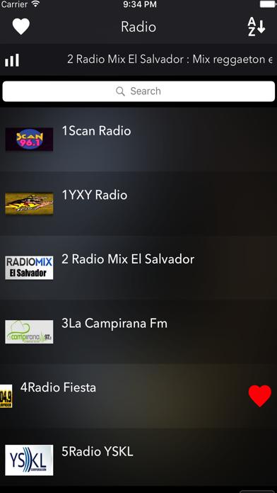 El Salvador Radios Live screenshot three