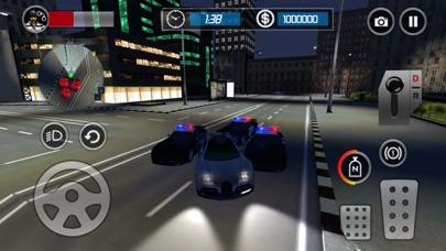 パトカーのエスケープ3D:ナイトモードレーシングチェイスゲームのおすすめ画像2