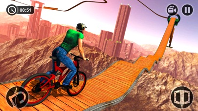Impossible BMX Bicycle Stunt Rider screenshot two