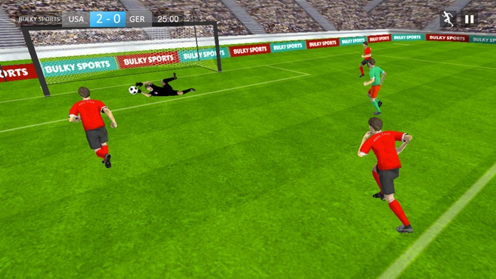 Play Soccer 2017 - Real Matches Game for Football Screenshot