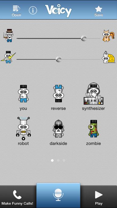 Voice Changer + Screenshot