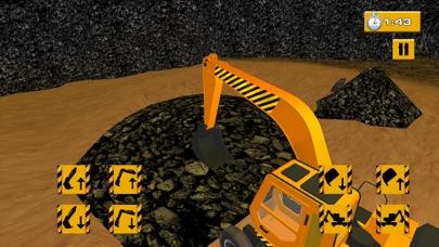 Coal Digger Crane Crew Simulator screenshot two