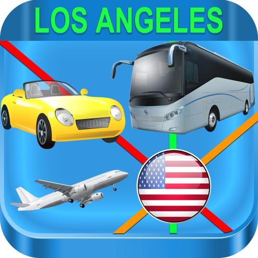 Los Angeles - Bus Rail Metro and Street View Maps