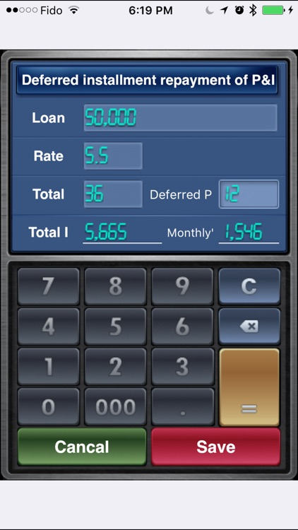 EZ Loan Calculator screenshot-2