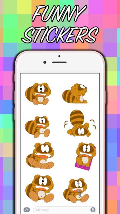 Funny Beaver Stickers! screenshot-4