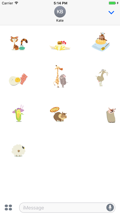 Hay Day Stickers Screenshot