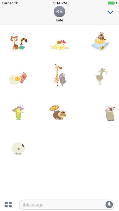 Hay Day Stickers Screenshot