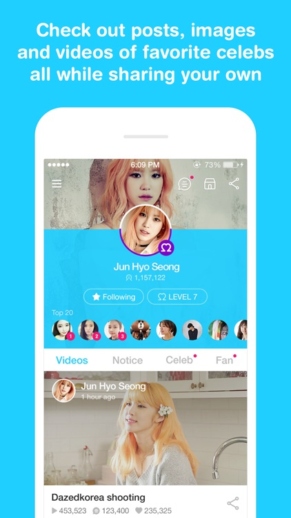 V LIVE - Broadcasting App screenshot-3