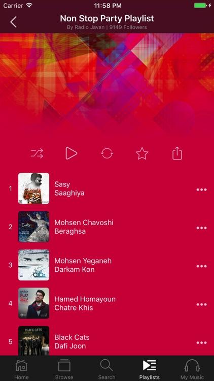 Radio Javan app image