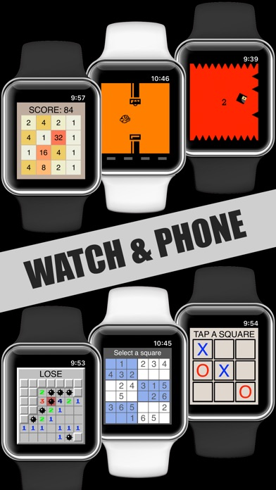 Screenshot for 17 Mini Games For Watch & Phone in United States App Store