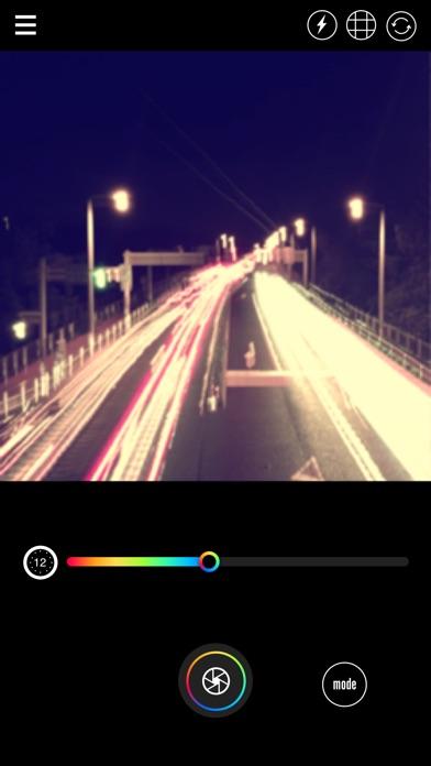 Instant X - 花火文字を撮影できるバルブ撮影アプリ紹介画像2