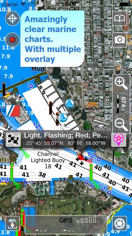 Aqua Map US - GPS Marine Maps