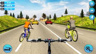 Bicycle Rider Traffic Racer 17 screenshot three