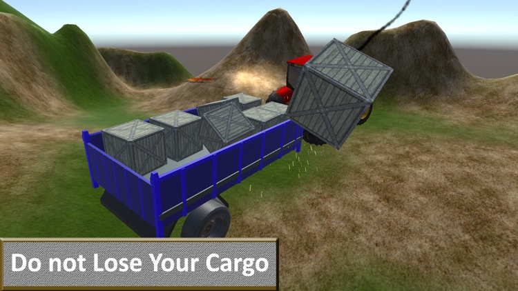 Off-Road Farm Tractor Transport