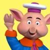 The 3 Little Pigs - Book & Games - ブックアプリ