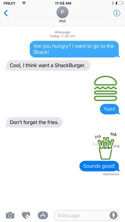 Shake Shack Stickers
