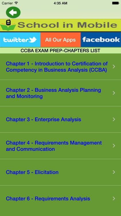 CCBA Certification Study by Aashita Jadhav